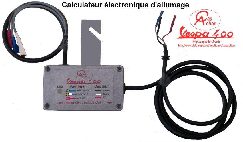 boîtier électronique d'allumage