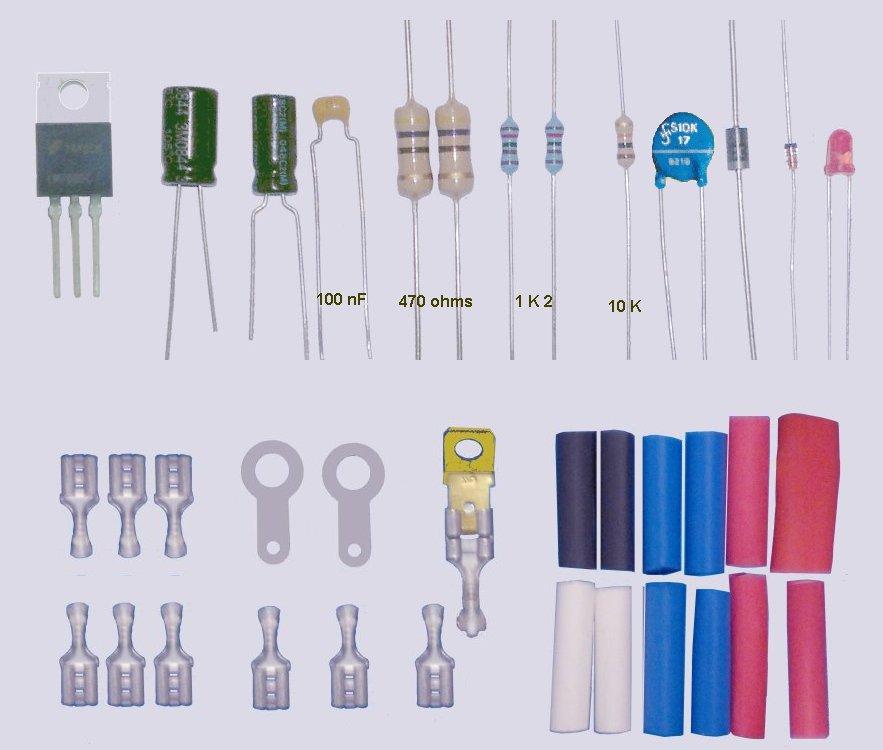 Composants ordinaires