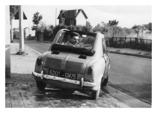 Ma première Vespa  400 un modèle 1958